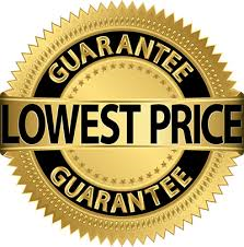 Lowest price garuntee